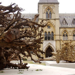 Angela Palmer's Ghost Forest, Pitt Rivers Museum, Oxford.