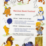 Marston Book Festival, Oxford, Saturday 5th March