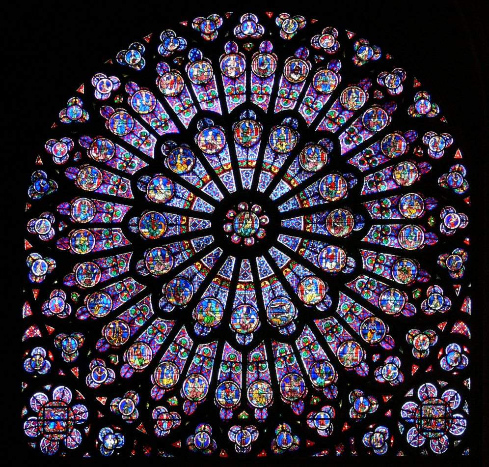 Paris-N-Dame-N-40612 rose window