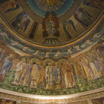 St Paul's Within the Walls, one of the loveliest churches in Rome