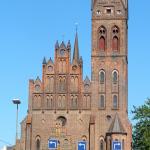 St. Albans Church, Odense, Funen, Denmark.