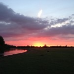 It was like a Church to me: Port Meadow, Oxford, at Sunset
