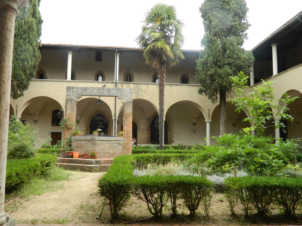 San Agostino church cloister