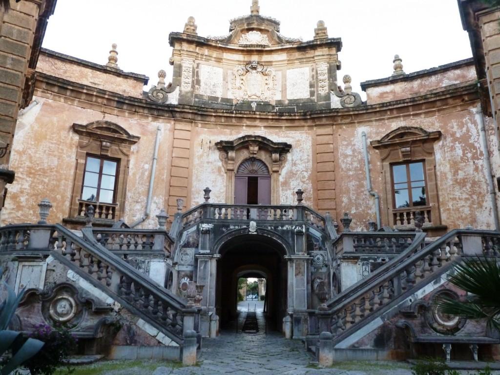 Formal Entrance to Villa Palagonia