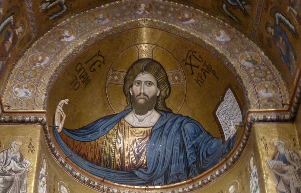 Christ pantocrator (Monreale Duomo)