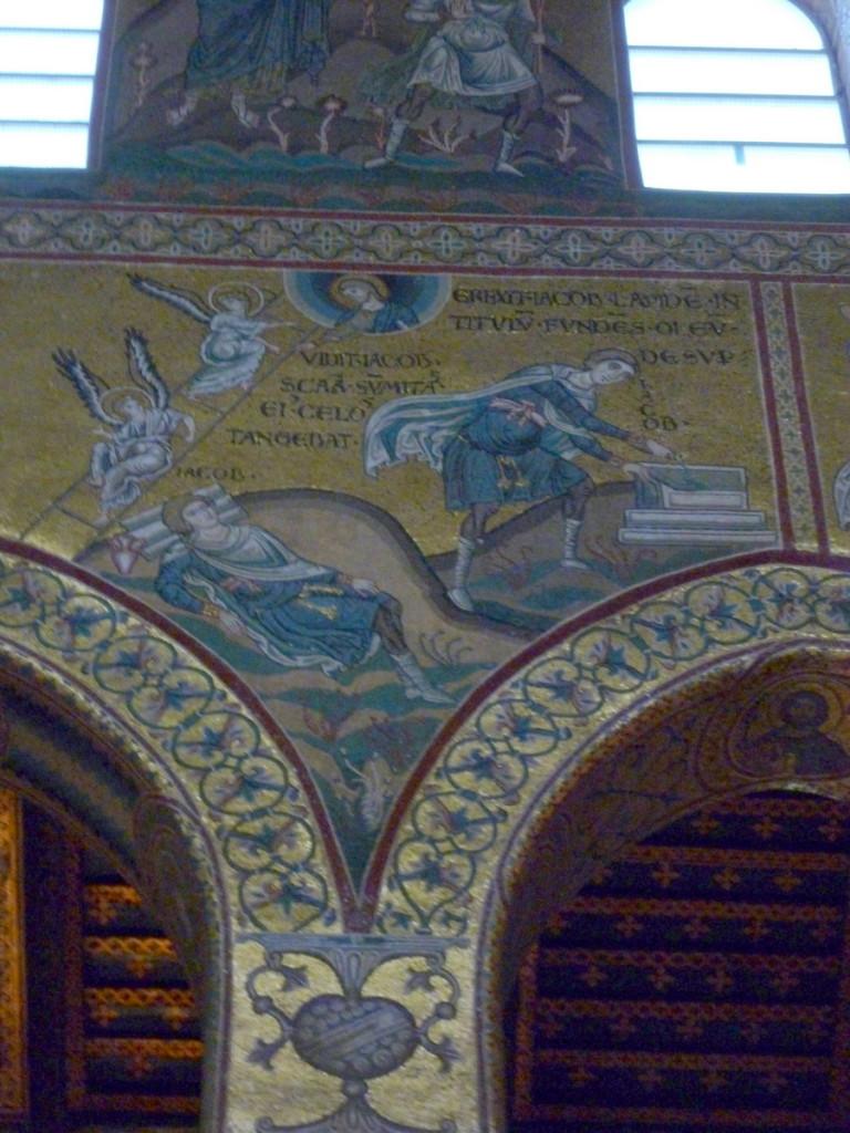 Jacob's ladder. (Monreale Duomo)
