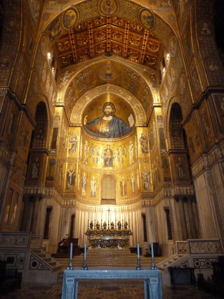 Christ Pantcrator (Monreale Duomo)
